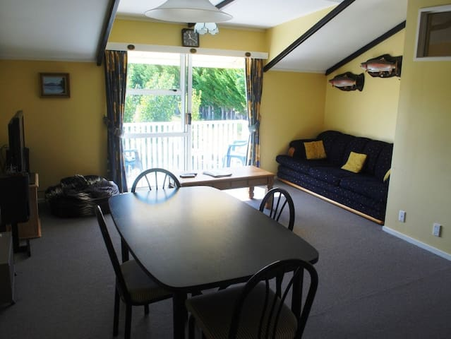 The Boathouse - Exclusively Yours! - Turangi - Casa