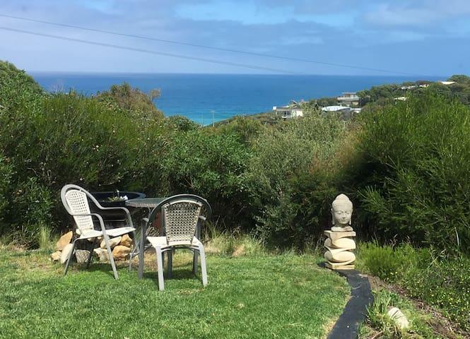 Garden setting with superb ocean views