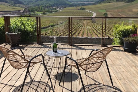 Villa with Outstanding Vineyard View, Deck, Garden