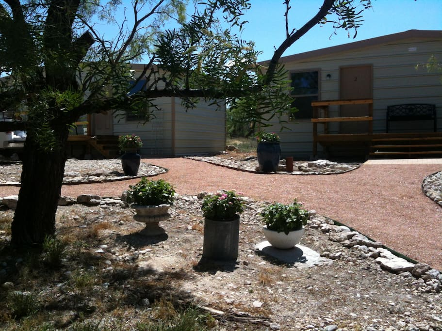 Clean Comfortable Rooms In Mertzon Cabins For Rent In
