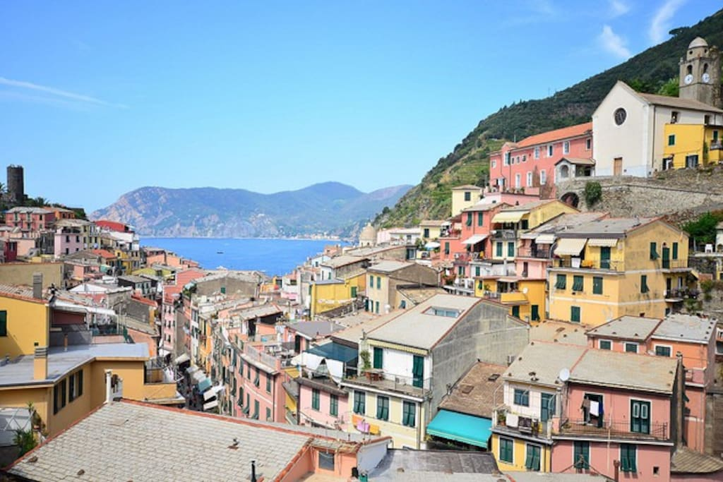5 terre vernazza camera vista mare houses for rent in for Hotels 5 terres italie