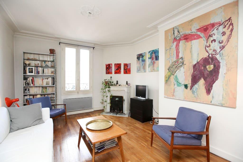 appartement bastille le marais le de france. Black Bedroom Furniture Sets. Home Design Ideas
