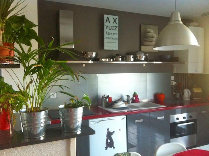 appartement 2 pièces+terrasse à Aix