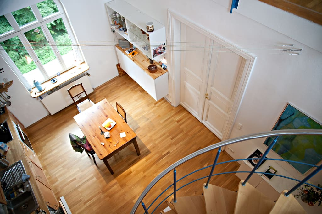 Wohn- und Küchenbereich (Foto: Claudia Konerding)