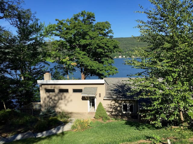 Beautiful Modern Smarthome Lakefront Retreat - West Milford - Dom
