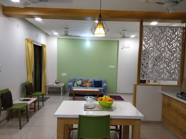 ♥Sacred Space 3-BHK, Serene Condo with breakfast ♥
