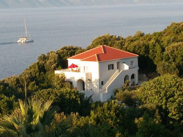 New apartment above the beach in Kozarica, Mljet