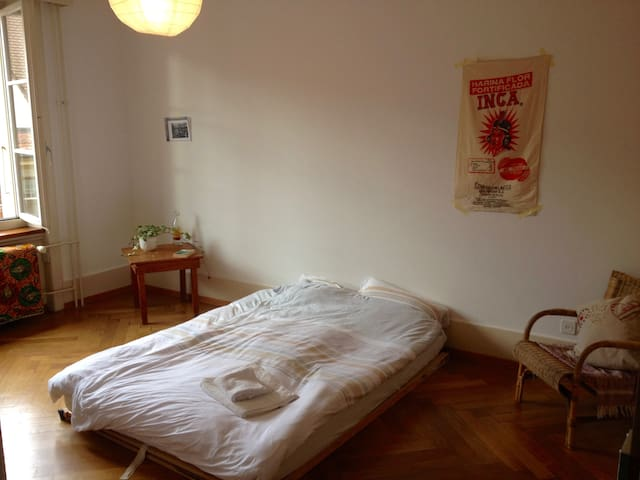 A cute room close to the centre - Bern - Lägenhet