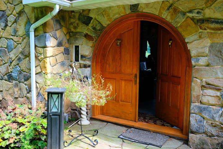 Family castle door