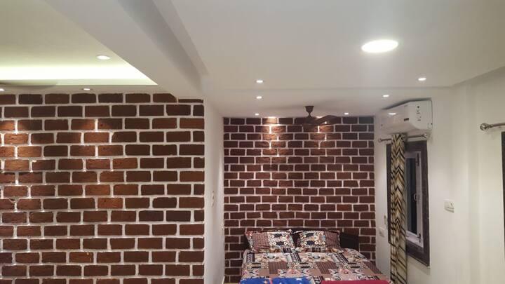 Furnished A/C studio apt near Calangute/ Baga Goa