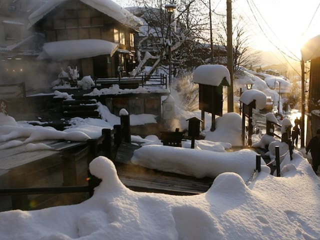 Nozawa Onsen BASECAMP - Oyu Weekly Apts #102 - Shimotakai District