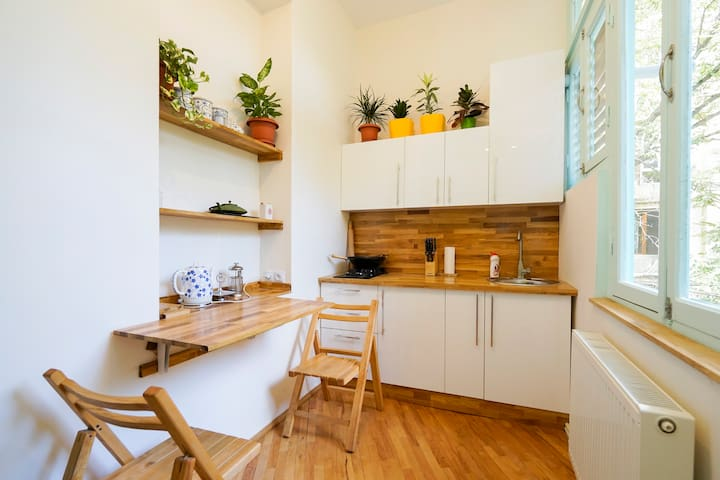 Tiny flat with terrace & garden - Tbilisi - Lägenhet