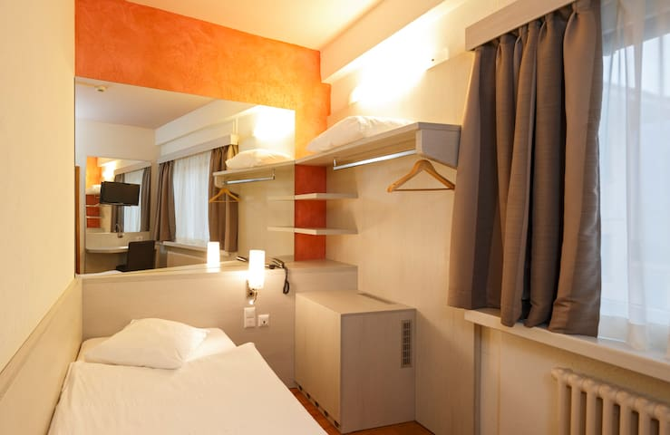 Acquarello - camera EcoMini - Lugano - Bed & Breakfast