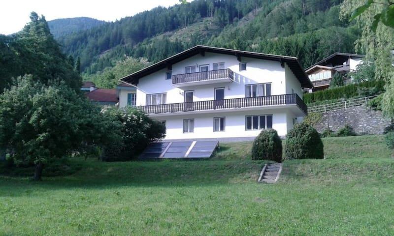 Ferienhaus Vera Wohnung grün - Obervellach