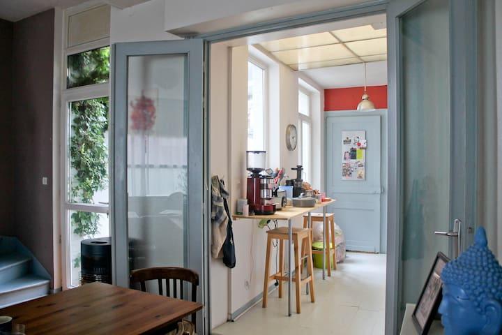 Chambre spacieuse et lumineuse à Wazemmes