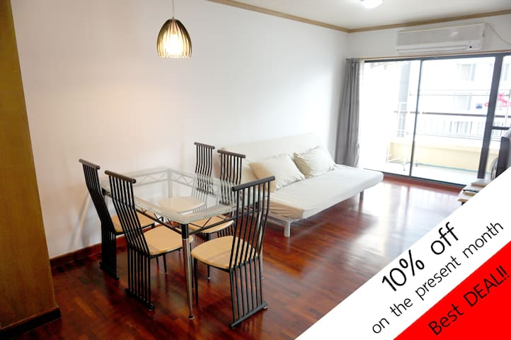 2BR, 70sqm Best price, best location,Comfy 22nd fl - Bangkok