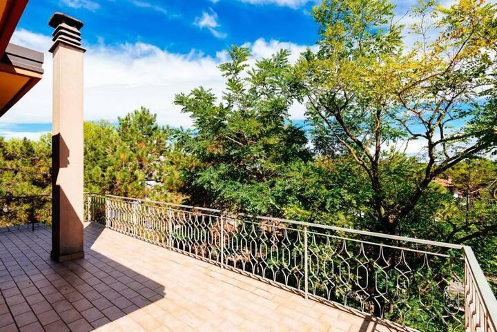Top floor apartment  2 rooms in Lignano Pineta