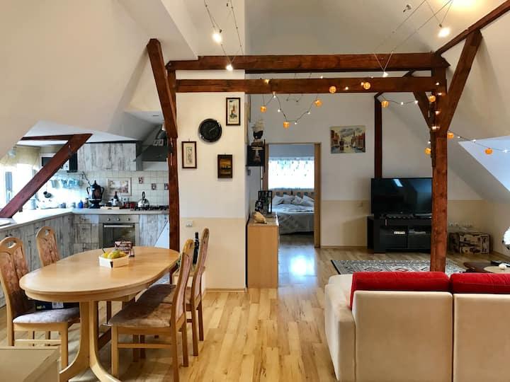 Уютная квартира-студия в немецкой вилле.