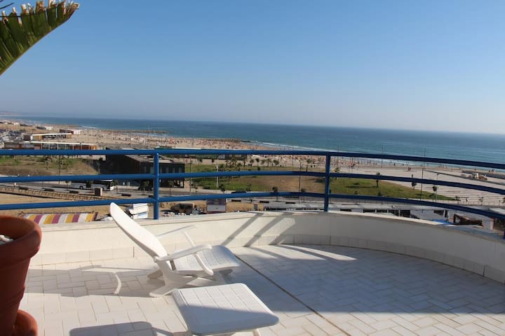 Sea View Penthouse - T1 - Costa da Caparica - Apartemen