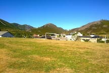 Una muestra de paisaje