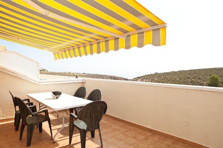 CASA CON VISTAS AL MAR. - Alicante - Rumah