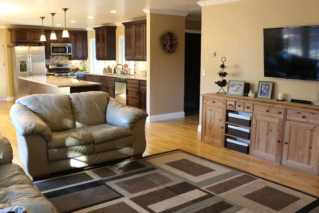 Open floor plan perfect for families to gather.