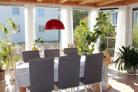 cosy quiet flat close to Nuremburg - Veitsbronn - Byt