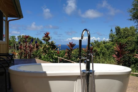 peaceful private oceanview cottage