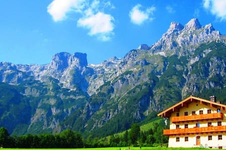 URLAUB in den Salzburger Bergen - Weng