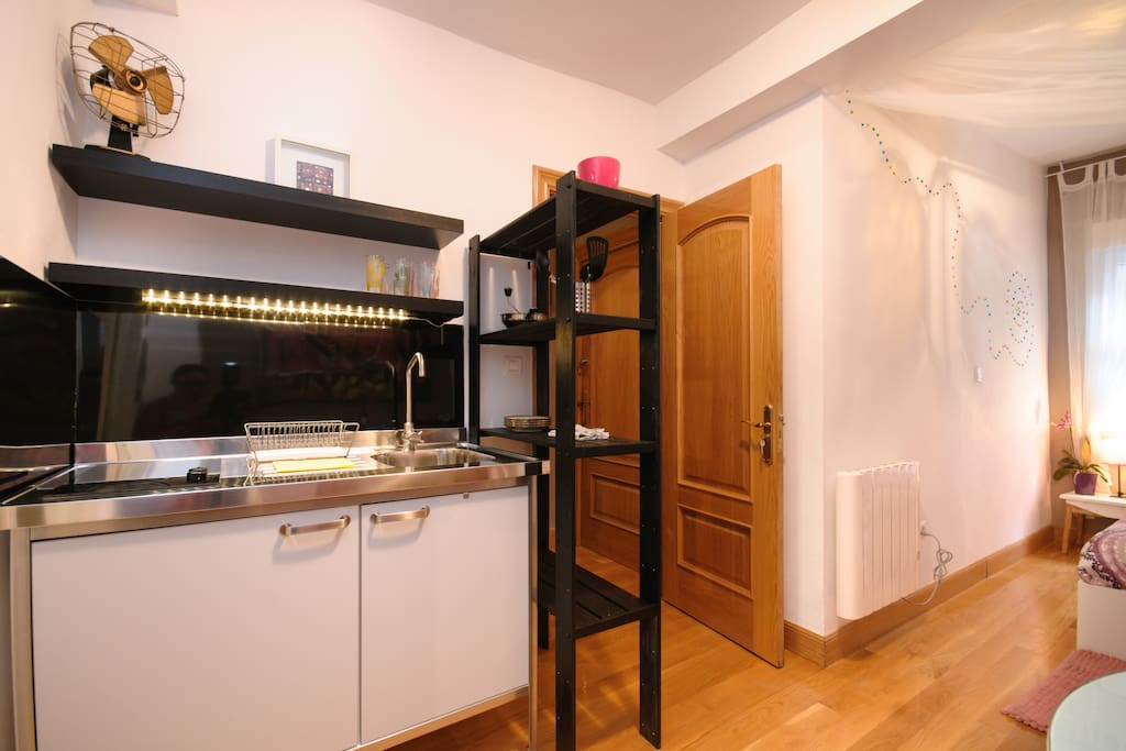 Apartment in old town with wifi loft in affitto a bilbao for Fregaderos aki