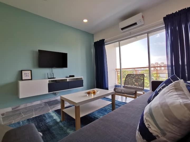 Port Dickson Cozy 1 Bedroom Unit - Up to 4 Pax