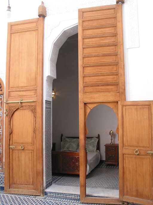 Entrée de la chambre Nejjarine