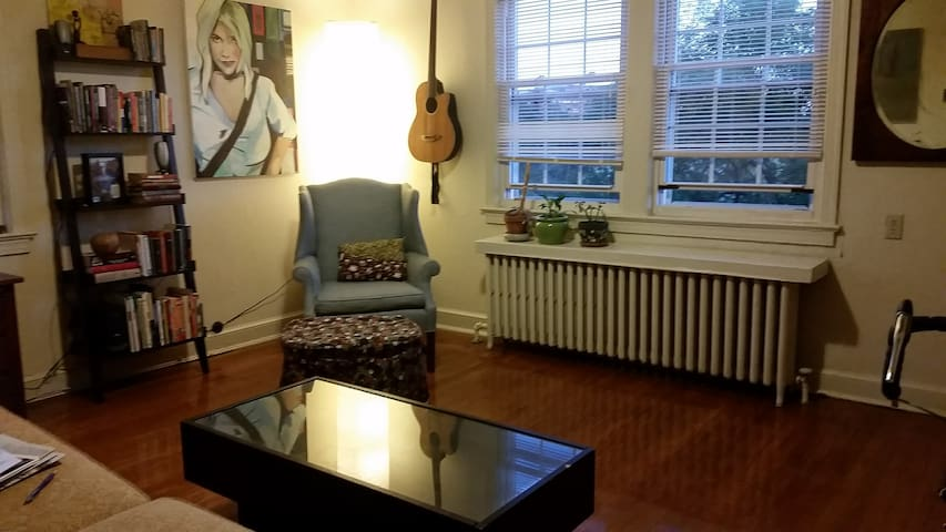 Apartment in Del Ray near Braddock Rd Metro - Alexandria - Appartement
