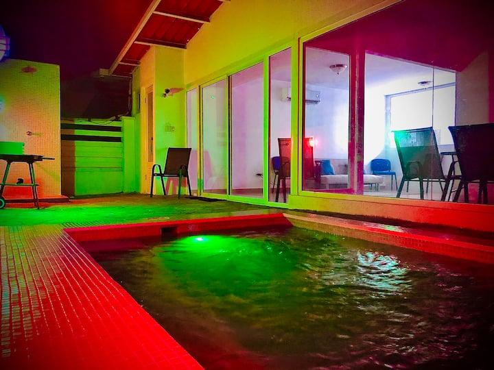 Playa Coronado / casa con mini piscina privada 🏄🏻♂️🏖