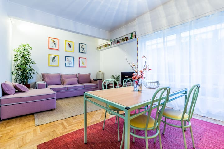 Designed apartment with 2 bedrooms under Acropolis - Athina - Pis