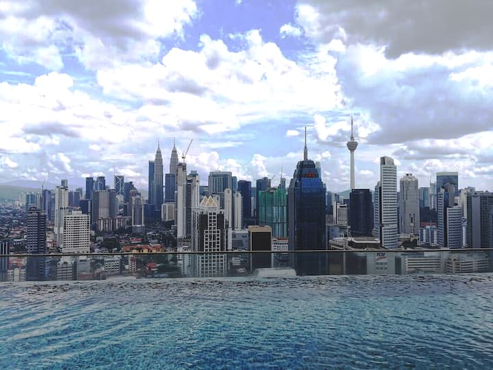 KL City Centre Regalia Sky Infinity Pool@丽阁天空泳池公寓