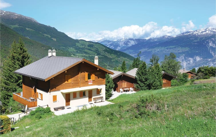 Holiday apartment with 2 bedrooms on 84m² in Bürchen