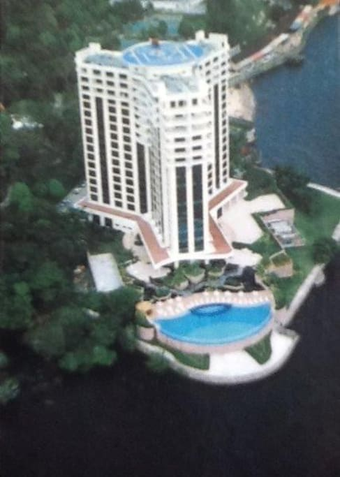 Flat Park Suites Manaus as margens do famoso Rio Negro.