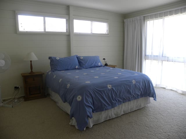 Master bedroom with ensuite and walk-in robe