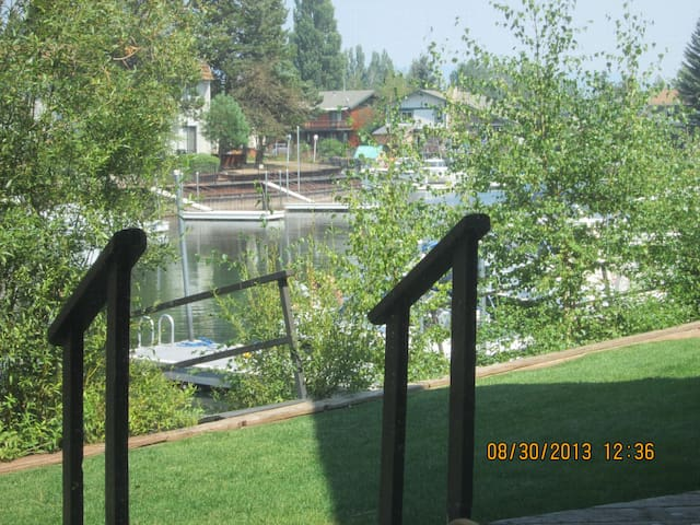 End unit condo in Tahoe Keys. - South Lake Tahoe - Appartement