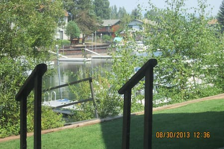 End unit condo in Tahoe Keys. - South Lake Tahoe - Apartment