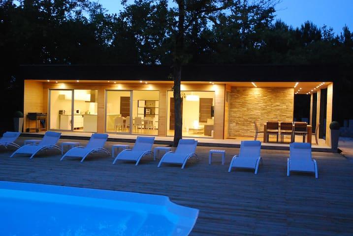 La Maourelle, maison d'architecte - Grayan-et-l'Hôpital - Hus
