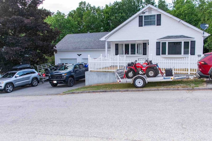 White Mountain Roomy Home-ATV access