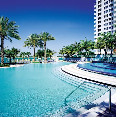 One bedroom in paradise - Miami - Daire