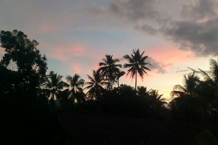 quiet room with wonderful view - Borobudur - Дом