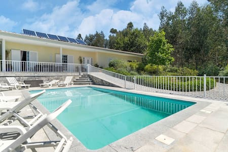 Holiday home in Penafiel with pool and lush green estate