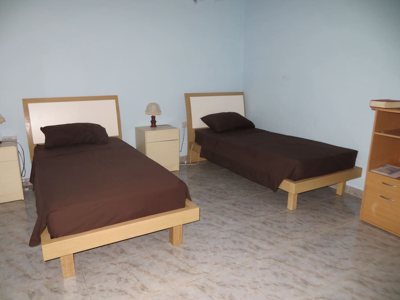 the beds - spacious and comfortable