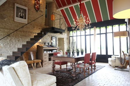 Suite in charming cottage - Panzoult