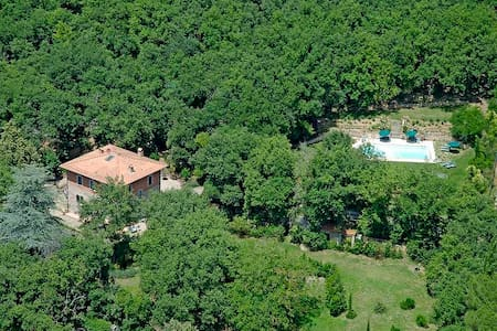 Appartam. 8-9p in villa con piscina - Gaiole In Chianti - 公寓