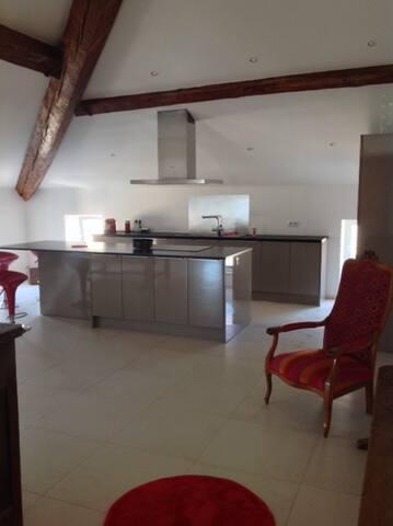 Grand loft neuf, tout confort, très agréable 4/6 p - Propriano - Appartement
